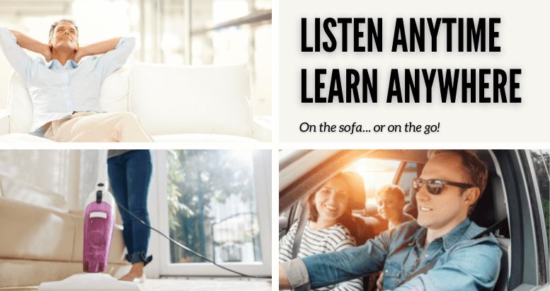 Learn on the go or on your sofa!